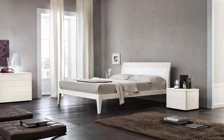 colori della camera da letto grigio