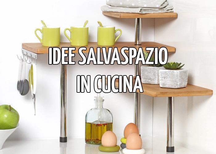 5 idee salvaspazio cucina for Idee salvaspazio cucina