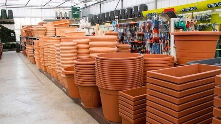 vasi in plastica per piante