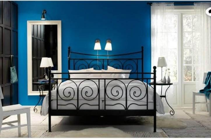 Idee per scegliere i colori della camera da letto - Colorare le pareti della camera da letto ...