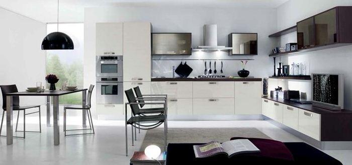 Come arredare una cucina soggiorno consiglicasa - Arredare cucina soggiorno piccola ...