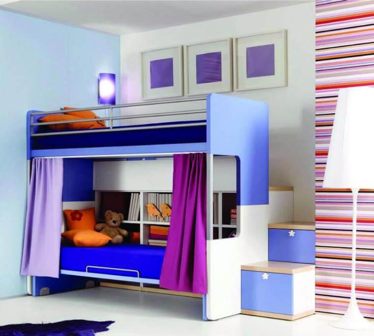 Come scegliere il letto a castello per la cameretta for Cameretta letto a castello