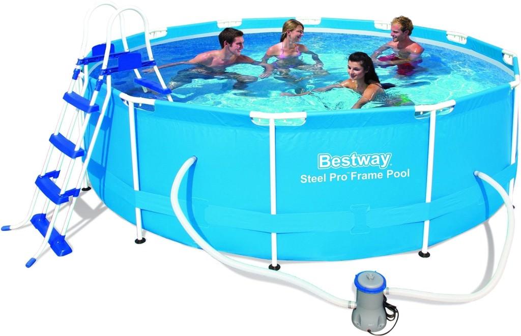 piscina fuori terra bestway offerte steel pro