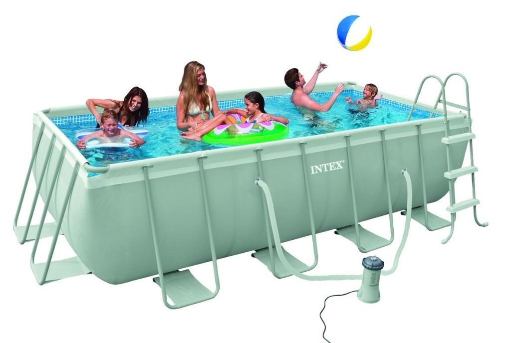 piscina fuori terra intex ultra frame rettangolare 400x200